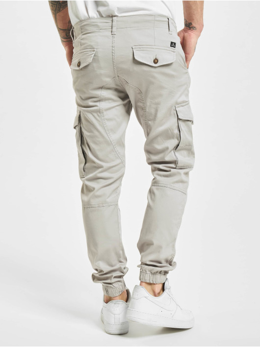 Jack & Jones Spodnie Chino/Cargo jjiPaul jjFlake Akm 542 szary