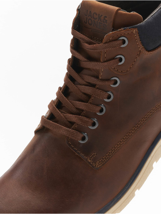 Jack & Jones Støvler jfwTubar Leather brun