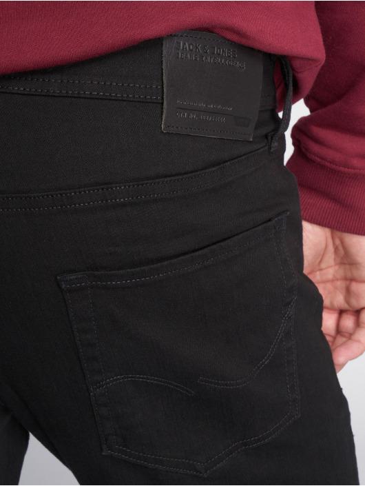 Jack & Jones Straight Fit Jeans jjiTim jjOriginal čern