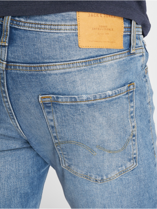 Jack & Jones Straight Fit Jeans jjiTim blå