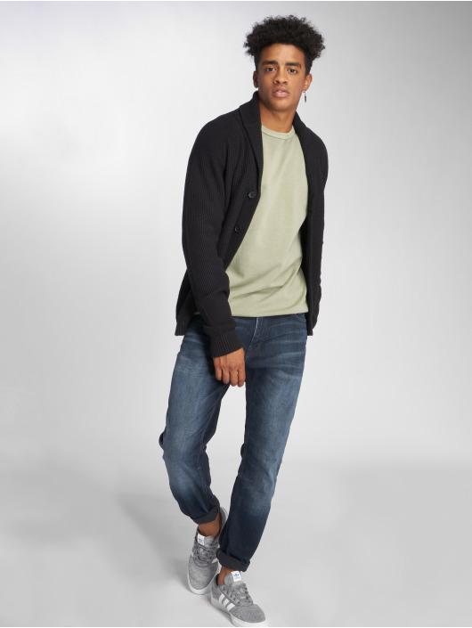 Jack & Jones Straight Fit Jeans Jjiclark Jjoriginal Zip Jos 319 Noos blå
