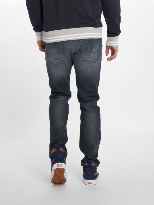 Jack & Jones Straight Fit Jeans jjiClark jjOriginal Noos blå