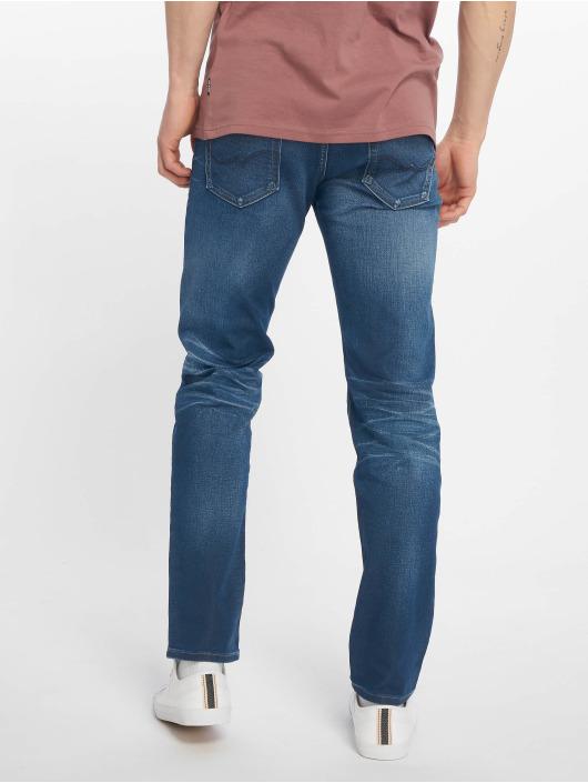 Jack & Jones Straight Fit Jeans jjiMike jjOriginal blå