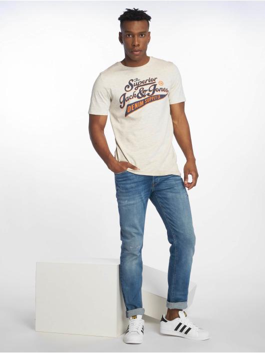 Jack & Jones Straight Fit Jeans jjiTim jjOriginal blå