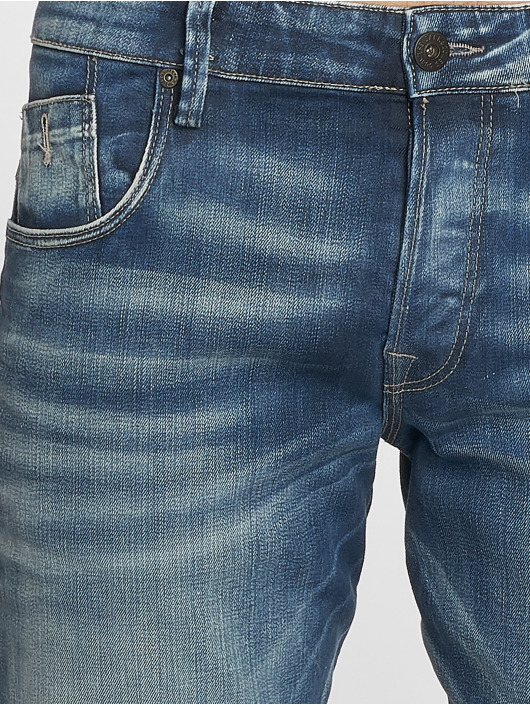Jack & Jones Straight Fit Jeans Mike blau