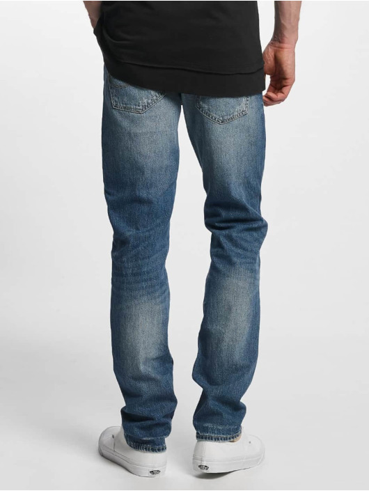 Jack & Jones Straight Fit Jeans jjTim Original CR 004 blau