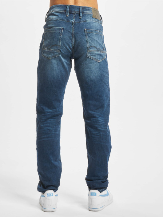 Jack & Jones Straight Fit Jeans jjTim jjLeon GE 382 blau