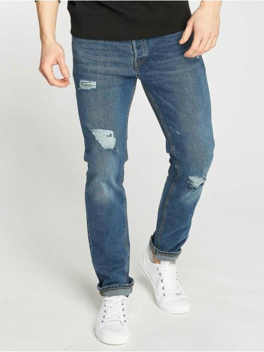 Jack & Jones Straight Fit Jeans jjiTim blau