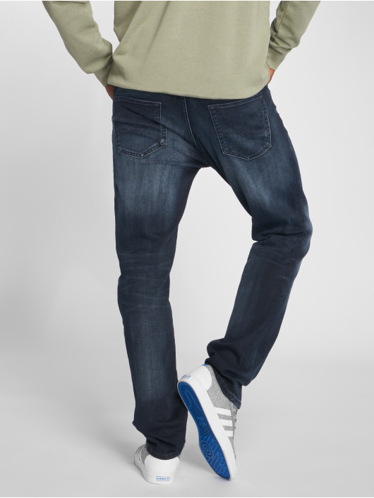 Jack & Jones Straight Fit Jeans Jjiclark Jjoriginal Zip Jos 319 Noos blau