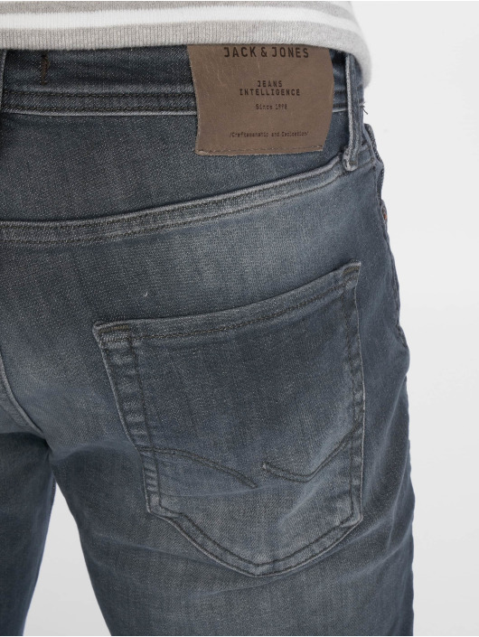 Jack & Jones Straight Fit Jeans jjiClark jjOriginal Noos blau