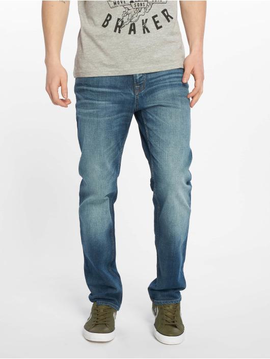 Jack & Jones Straight Fit Jeans jjiClark jjOriginal blau
