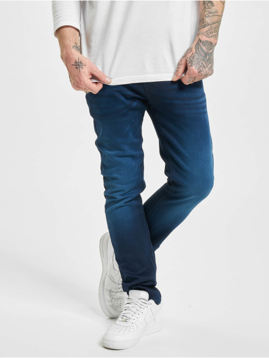 Jack & Jones Straight Fit Jeans jjiGlenn jjOriginal GE 106 I.K Noos blau