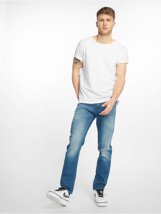 Jack & Jones Straight Fit Jeans jjiTim jjLeon blue