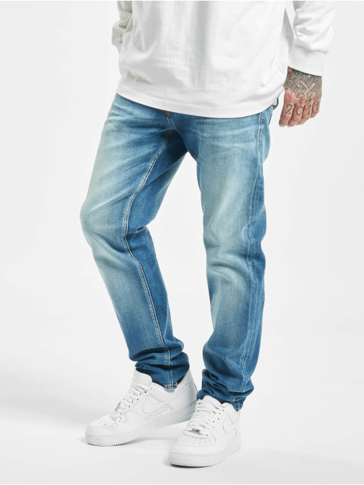 Jack & Jones Straight Fit Jeans jjiMike Jjoriginal Jos 411 blue