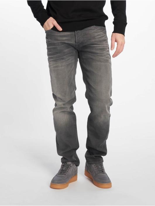 Jack & Jones Straight Fit Jeans Jjimike Jjoriginal grau