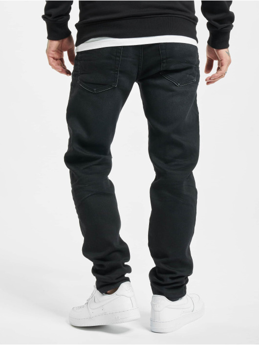 Jack & Jones Straight Fit Jeans jjiMike jjOriginal schwarz