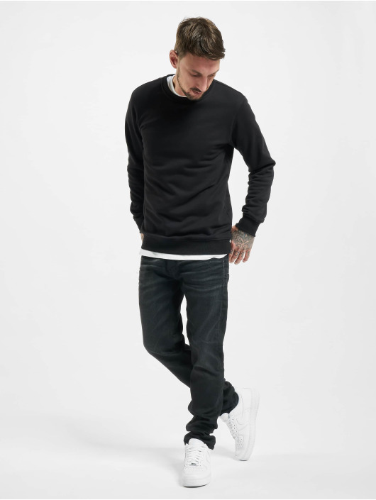 Jack & Jones Straight Fit Jeans jjiMike jjOriginal svart