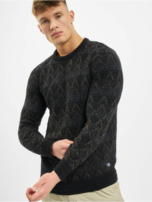 Jack & Jones Svetry jprBlucarson Knit čern