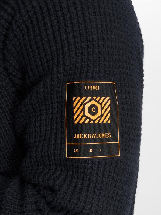 Jack & Jones Svetry jcoMemphis modrý