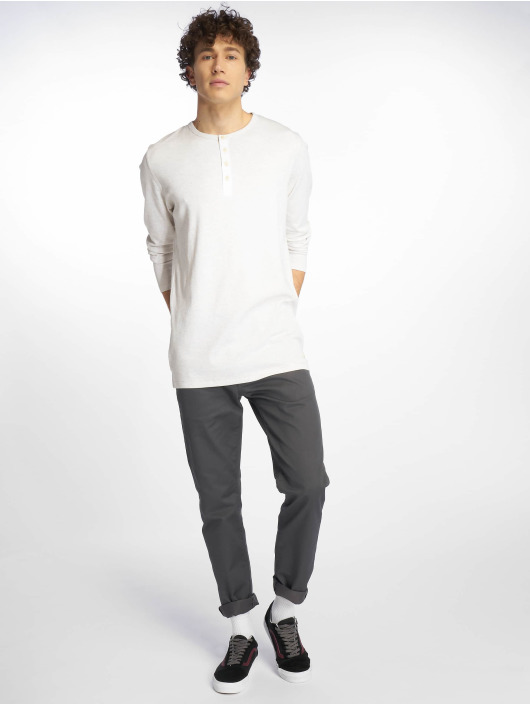 Jack & Jones Sweat & Pull jjeGiovanni Granddad blanc