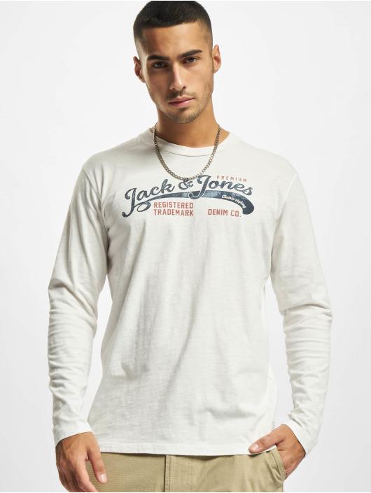 Jack & Jones Sweat & Pull Jprbluwash blanc