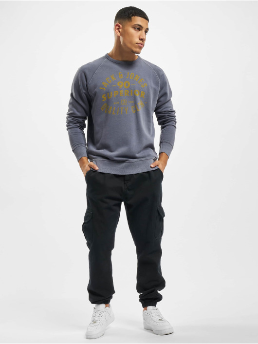 Jack & Jones Sweat & Pull jjeJeans Washed bleu