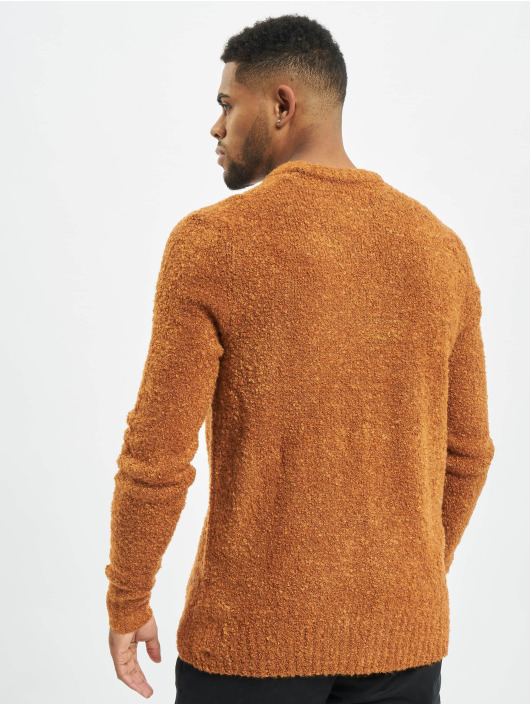 Jack & Jones Sweat & Pull jorLamb brun