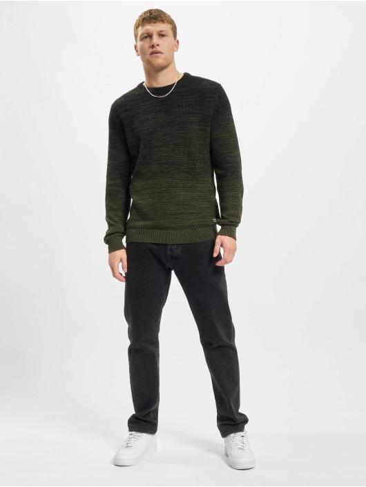 Jack & Jones Sweat & Pull Jjethomas Knit vert