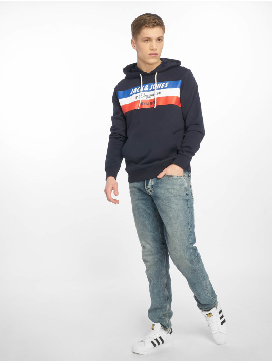 Jack & Jones Sweat capuche jorShakedowns bleu