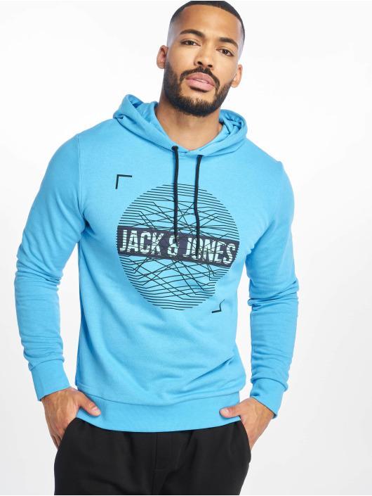Jack & Jones Sweat capuche jcoBooster bleu
