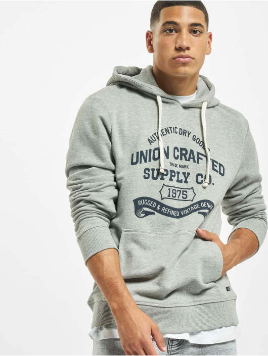 Jack & Jones Sweat capuche jprBlurugged gris