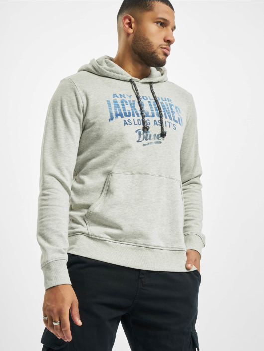 Jack & Jones Sweat capuche jj30Jack Print gris