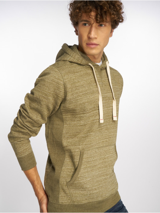 Jack & Jones Sweat capuche jjeSpace Melange olive