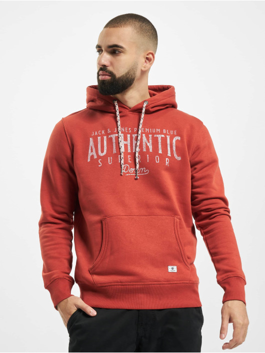 Jack & Jones Sweat capuche jprBlujoseph rouge