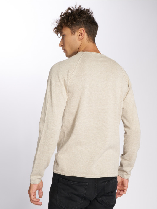 Jack & Jones Swetry jjeUnion bezowy