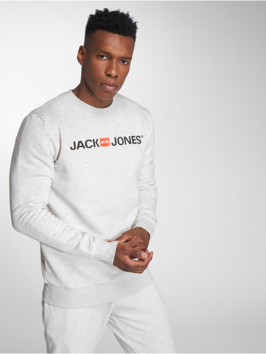 Jack & Jones Swetry jjeCorp bialy