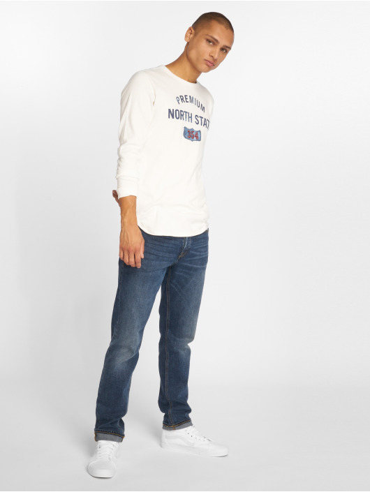 Jack & Jones Swetry jprDerek bialy