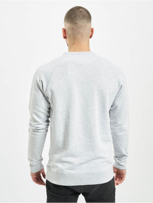Jack & Jones Swetry jjeJeans Washed bialy