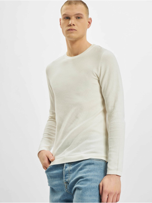 Jack & Jones Swetry jjeRob Knit bialy