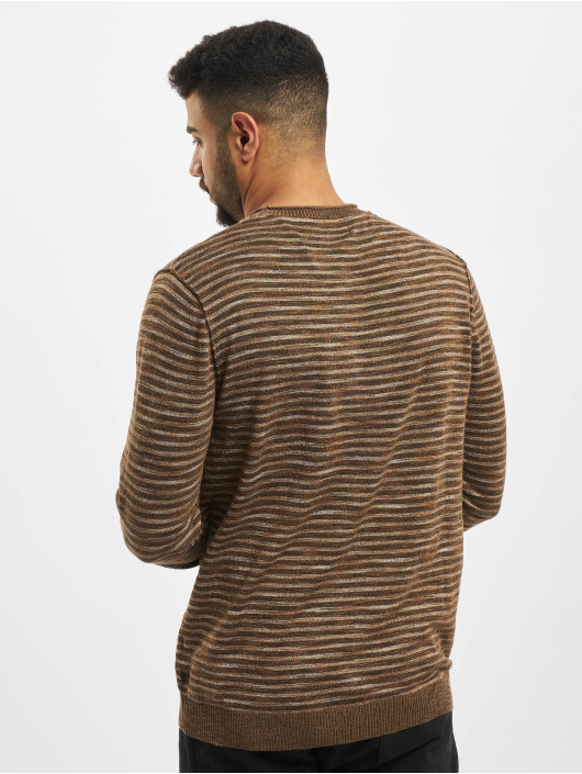 Jack & Jones Swetry jprBluted brazowy