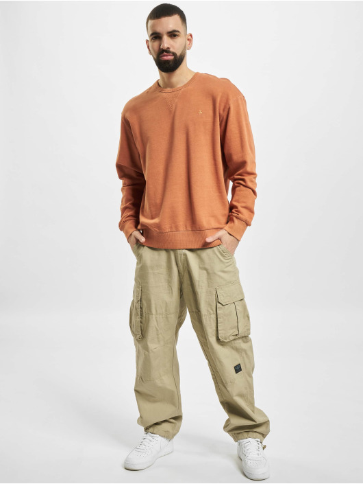 Jack & Jones Swetry jjeWashed Noos brazowy