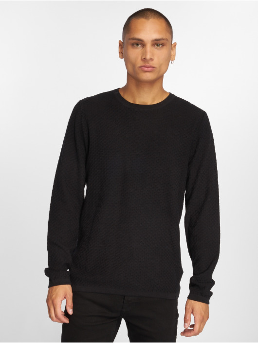 Jack & Jones Swetry jprThomas czarny