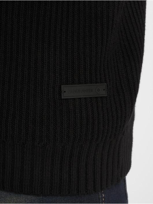 Jack & Jones Swetry Jcocalgary czarny