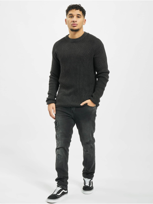 Jack & Jones Swetry jorBenjii Knit czarny