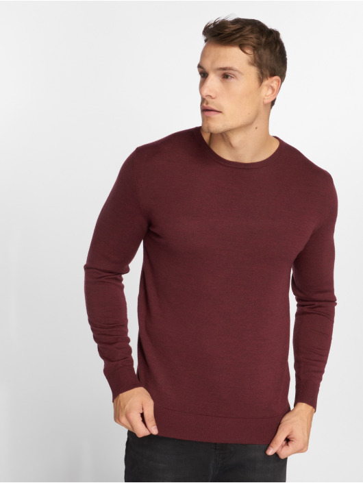 Jack & Jones Swetry jprMark czerwony