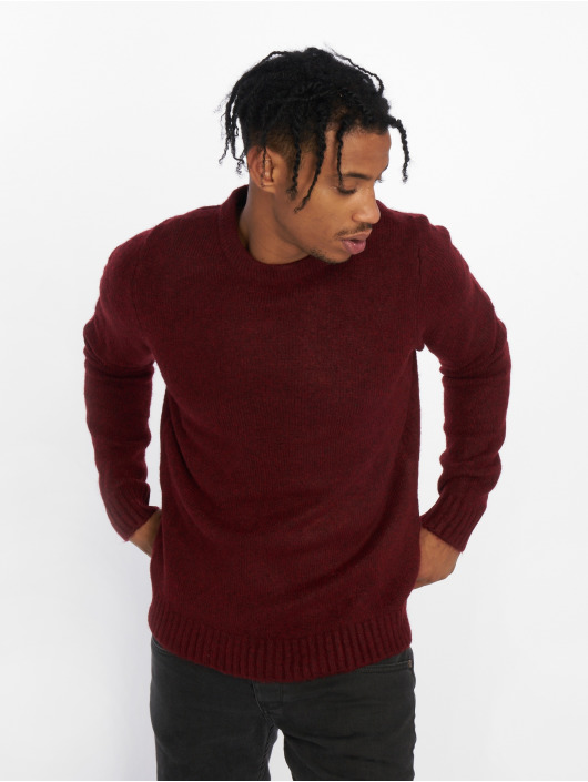 Jack & Jones Swetry jprMaine czerwony
