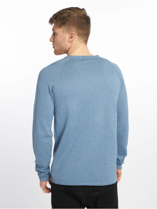 Jack & Jones Swetry jjeUnion niebieski