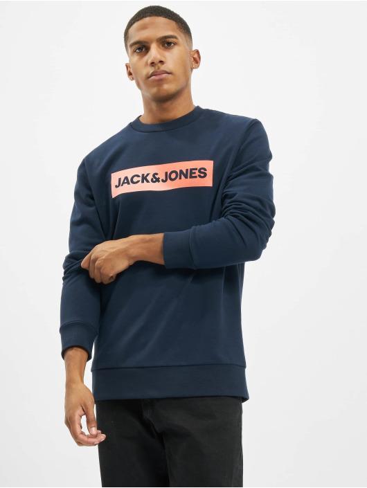 Jack & Jones Swetry jorTop niebieski