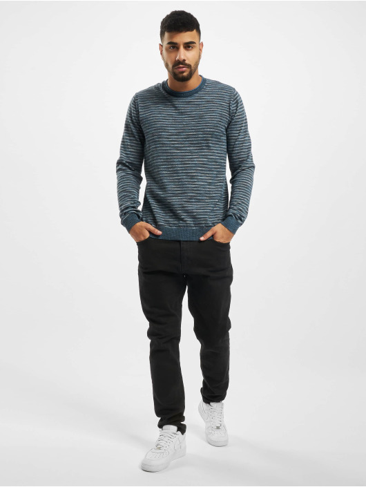 Jack & Jones Swetry jprBluted niebieski