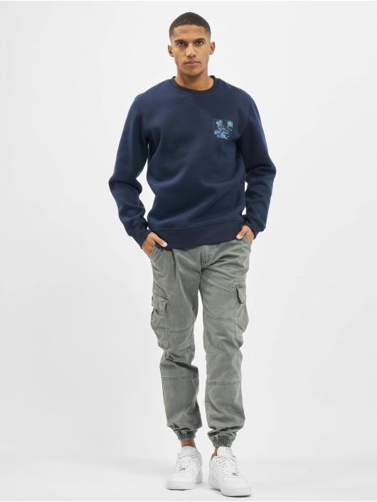 Jack & Jones Swetry jcoOttos niebieski